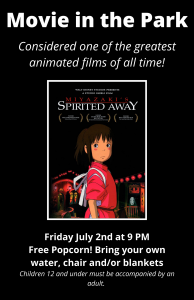 Spirited Away-Movie in the Park Poster